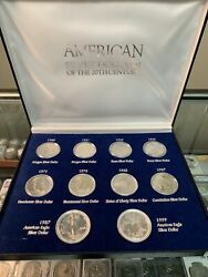 American Silver Dollars Of The 20th Century The American Historic Society
