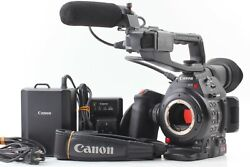 [near Mint] Canon Eos C100 Mark Ii Mk 2 Cinema Camcorder Ef Mount From Japan H33