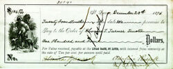 Winfield Scott Hancock - Promissory Note Signed 12/28/1876 With Co-signers
