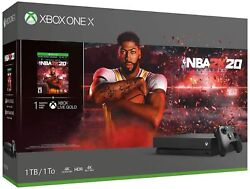 Xbox One X 1tb Console - Nba 2k20 Bundle Used In Very Good Condition