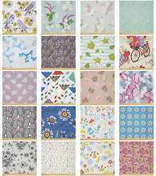 Ambesonne Spring Motif Microfiber Fabric By The Yard For Arts And Crafts