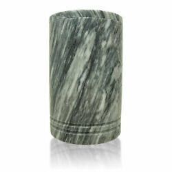 Tuscan Marble Burial Urns For Ashes - Extra Large Grey