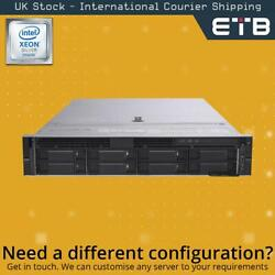 Dell Poweredge R740 1x8 3.5 - Xeon Silver Cpus - Build Your Own Server