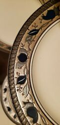 Mikasa Inglio Arabella - Two Rimmed Soup Bowls And One Salad Plate