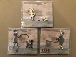 Mog Wdi 101 Dalmatians 60th Anniversary Owners Matching Dogs Disney Le Pin Lot