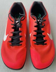 Nike Unisex Zoom Rival D 10 Distance Track Spikes Size 12 Men 907566-604 Nib