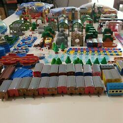 Thomas And Friends Capsul Plarail Tracks And Accessories - Huge Lot
