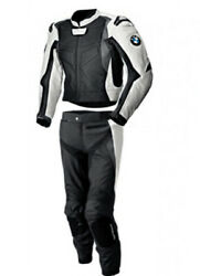 Bmw Suit Motorcycle Street Racing Ce Protected Armour Cowhide Leather Jacket