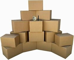 20x12x12 Corrugated Shipping Boxes Packing Mailing Moving Cardboard Cartons