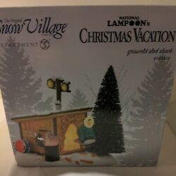 Department 56 National Lampoons Christmas Vacation Griswold Sled Shack New