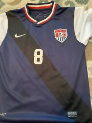 Nike Usa National Soccer Team Clint Dempsey 8 Jersey Size Youth M Used