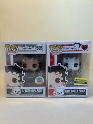 Funko Pop Lot Elf Betty Boop And Pudgy 505 Funko Shop Exclusive And 421