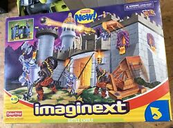 Large Fisher-price Imaginext Battle Castle Brand New Old Stock Factory Sealed