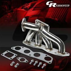 For 02-11 Honda Civic Si Ep3/rsx K20 T3 Stainless Racing Turbo Charger Manifold