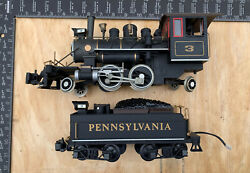 Bachmann 2-4-2 Big Haulers 3 Steam Locomotive And Tender G Scale - Parts Only