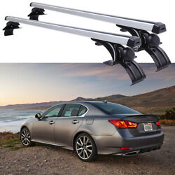 For Lexus Gs 350 48 Car Roof Rack Cross Bar Luggage Bicycle Carrier Aluminum
