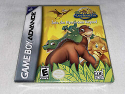 The Land Before Time Into The Mysterious Beyond Nintendo Gameboy Advance Gba New