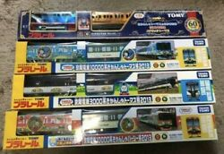 Plarail Tomy Thomas And Friends Train Toys Set Of 4 Rare From Japan Used