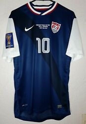 Usa Nike Final Gold Cup 2013 Landon Donovan Player Issue Away Soccer Jersey