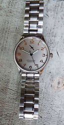 Pilots Watch / D.freemont Swiss Made 17 Jewel Manual Wind - No Battery Required.