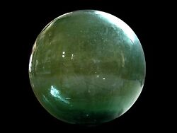 Largest Most Rare 14 Diameter Antique Glass Fishing Float Cheap Don't Miss