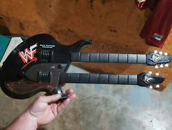 Wwf Wrestling 1999 The Music Guitar Dsi Toys Double Neck Works