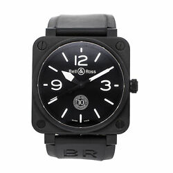 Bell And Ross Br 01 10th Anniversary Le Auto Ceramic Mens Watch Br0192-10th-ce