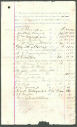 Edward Porter Alexander - Document Signed With Co-signers