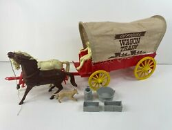 1960 Wagon Train Covered Wagon Toy By Marx, Tv Show Related
