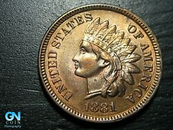 1881 Indian Head Cent Penny -- Make Us An Offer K5043