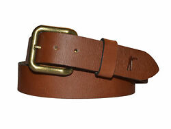 Ball And Buck Men's Signature Leather Last Belt You'll Ever Buy 118 Nwot