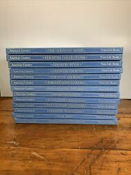 Lot Of 13 Time Life Books American Country Hardcover Vintage