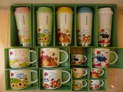 Starbucks Japan Tumbler Mug You Are Here Collection Spring Summer Autumn Winter