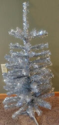 Christmas Tinsel Tree 36 High - Midwest Of Cannon Falls 767771 - New Old Stock