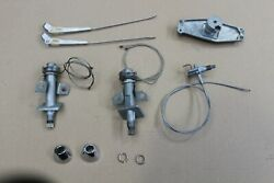 1958 1959 1960 1961 1962 Corvette Nos Wiper Transmissions, Pulley, Bezels, Arms