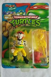 1993 Tmnt Hot Spot In Zolo Case Unpunched Sealed Moc