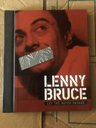 Rare 2004 Oop Lenny Bruce Let The Buyer Beware 6 Cd Box Set Book Shout Factory