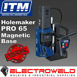 Holemaker Pro 65 Magnetic Base Drill Hole Annular Cutter Steel Drilling Hmpro65