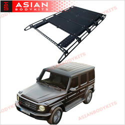 For Mercedes Benz G Class W463a G63 2018+ Roof Rack Bar With Ladder Sunroof