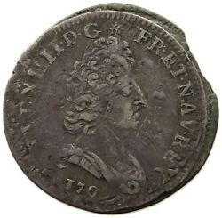 France 10 Sols 1705 A Double Struck Both Sides T45 305