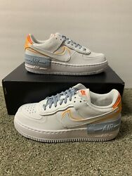 Nike Air Force 1 Shadow Kindness Day Dc2199-100 Womenand039s Sz 9 Brand New