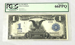 1899 Black Eagle Low Serial Pcgs 66ppq Serial Number X33a