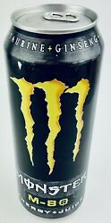 Monster Energy Drink M-80 24oz Full Unopened Can Rare Free Shipping