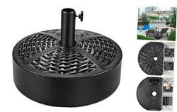 50lbs Heavy Duty Patio Market Outdoor Umbrella Base Stand Water 50.0 Pounds