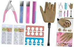 Silicone Nail Practice Hands Set For Nails, Flexible Fake Mannequin Hands