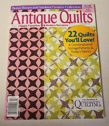 Better Homes And Gardens Antique Quilts Magazine 2010 Volume One 22 Quilts-cutout