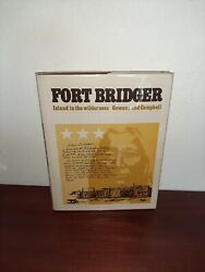 Fort Bridger Island In The Wilderness Hardcover Fred Gowans
