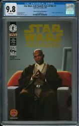 Star Wars Jedi Council Acts Of War 1 Cgc 9.8 6/00 Dh Gold Photo Cover