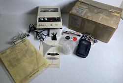 Sears Model 8244 Portable Voice Activated Reel To Reel Tape Recorder Vintagework