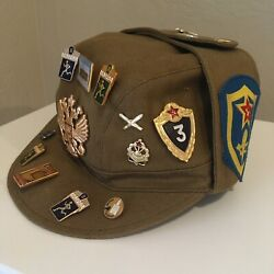 Soviet Made Afghan Communist Afghanistan Army Military Field Cap Hat Size 56